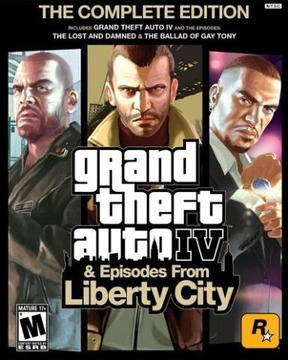 Grand Theft Auto IV GTA (Complete Edition)
