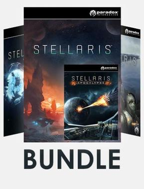 Stellaris - Bundle (Base Game + DLC: Apocalypse, Utopia)