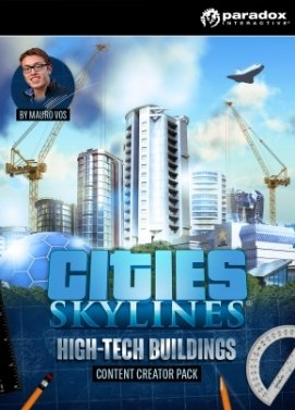 Cities: Skylines - High-Tech Buildings