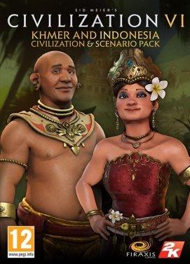 Civilization 6 - Khmer and Indonesia Civilization